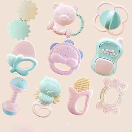 卡卡贝儿婴儿手摇铃玩具图1