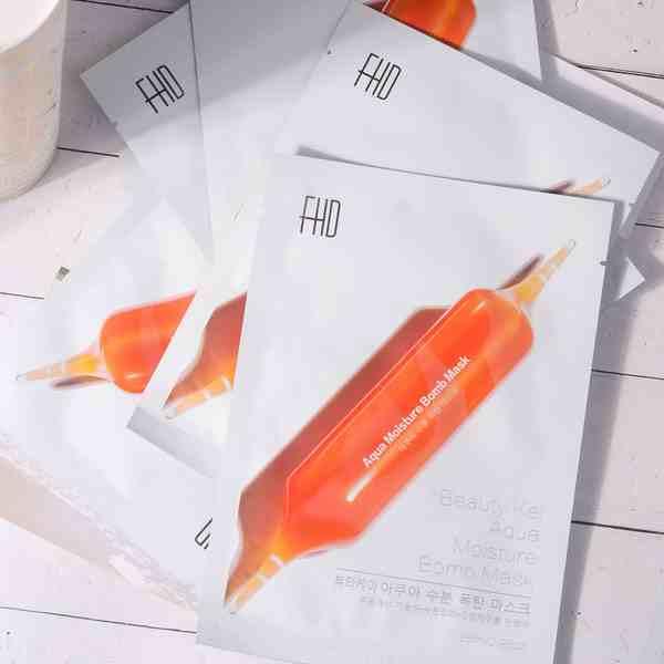 韩国FHD血橙面膜图一