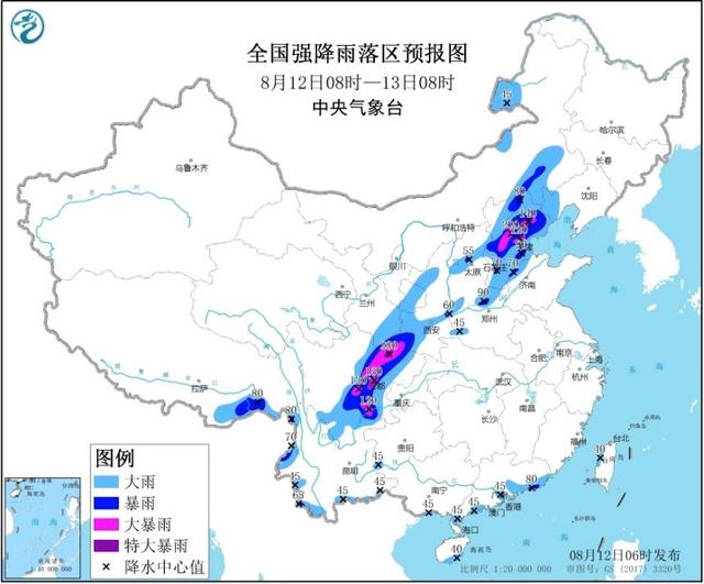 降雨對北京晚高峰影響較大  駕車注意避讓積水路段