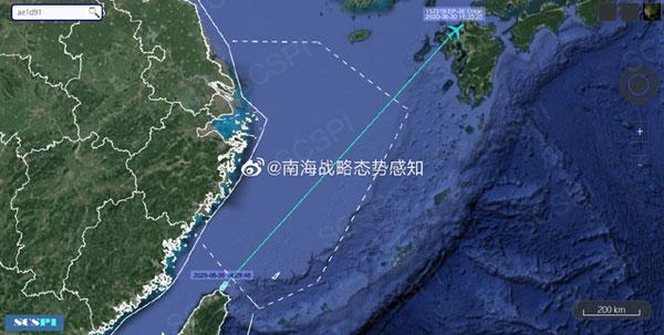 美军侦察机被曝疑似从台湾起飞,美侦察机疑台湾起飞-第1张图片-免单网