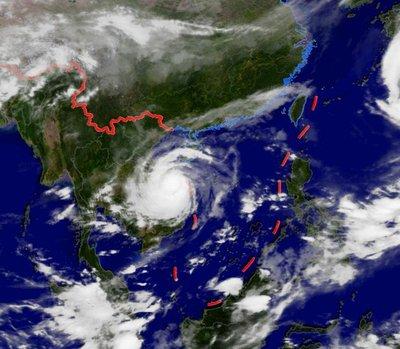 10号台风最新消息2020,2020年第10号台风海神路径,2020年第10号台风最新消息-第2张图片-免单网