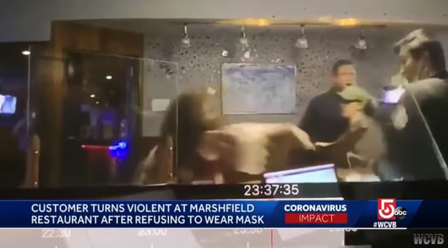 美国中餐馆因要顾客戴口罩遭打砸,外国人为什么不戴口罩-第2张图片-免单网