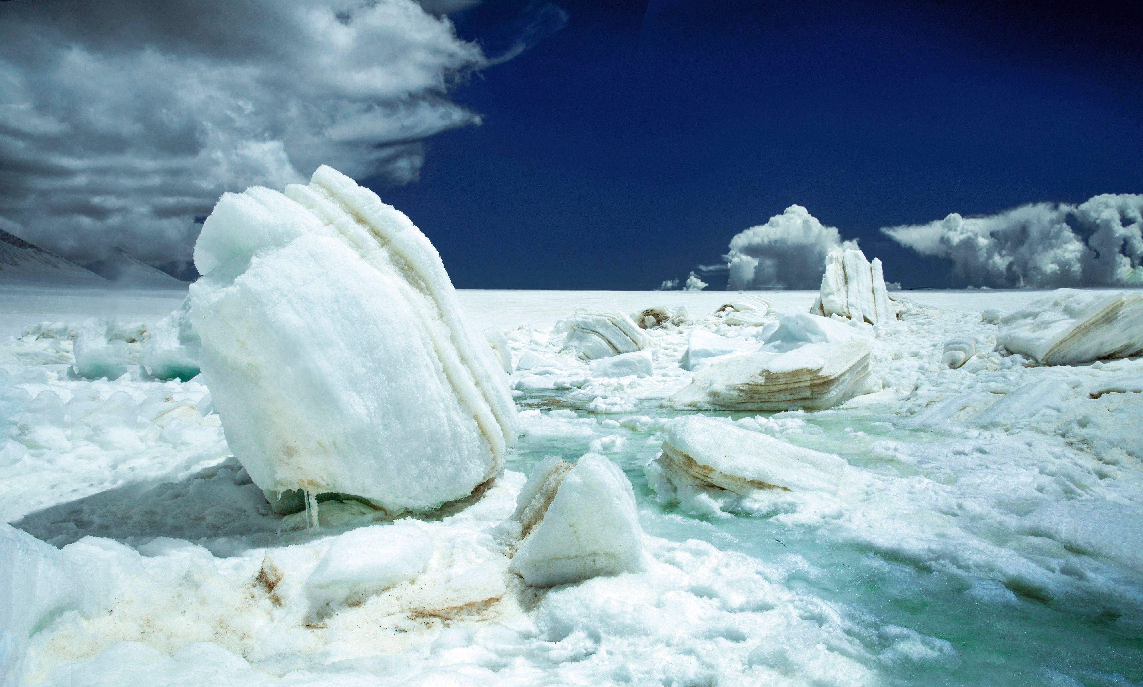 全球冰川湖面积不到30年增加51%,格陵兰岛冰盖融化程度达临界点-第1张图片-免单网