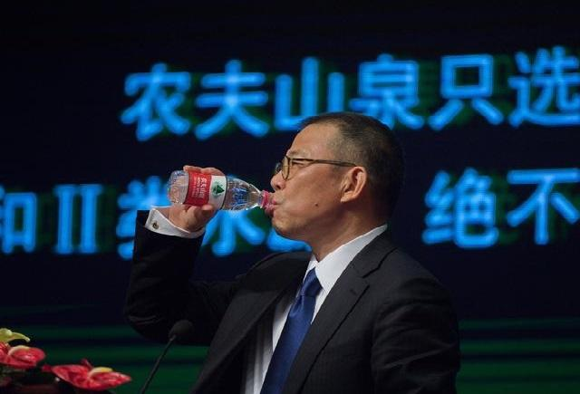 农夫山泉创始人成中国首富-农夫山泉创始人超马化腾成中国首富