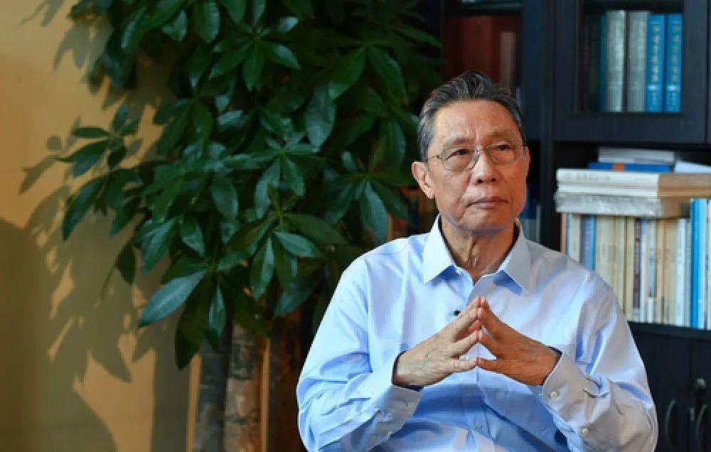 钟南山哽咽说什么都压不倒中国人-钟南山:中国人的命最重要