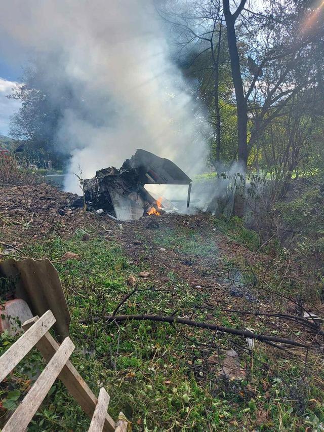 塞尔维亚一架军用飞机坠毁,一架军用飞机在塞尔维亚洛兹尼察附近坠毁-第2张图片-免单网
