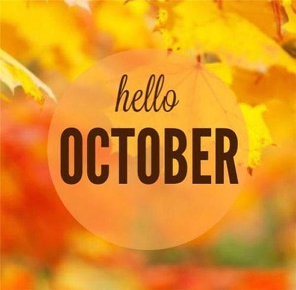10月你好的说说,10月你好的句子-第1张图片-免单网