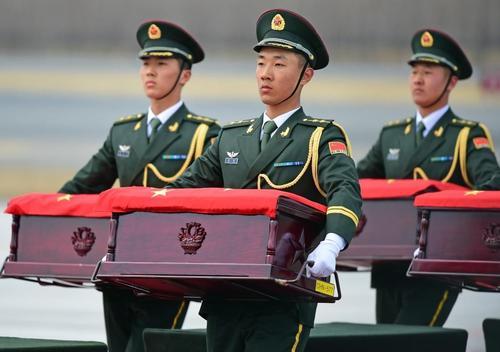117位在韩志愿军烈士遗骸今日回国,中韩将交接第七批在韩烈士遗骸-第1张图片-免单网