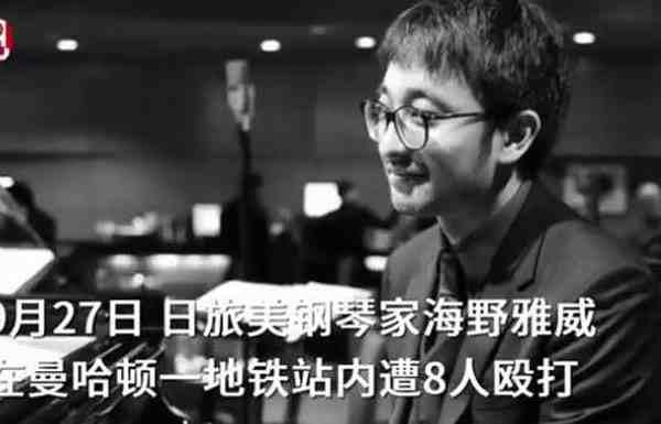热点:日本钢琴家海野雅威被打成重伤