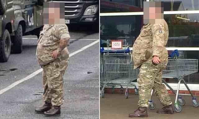 英国一体重340斤士兵被赶出部队