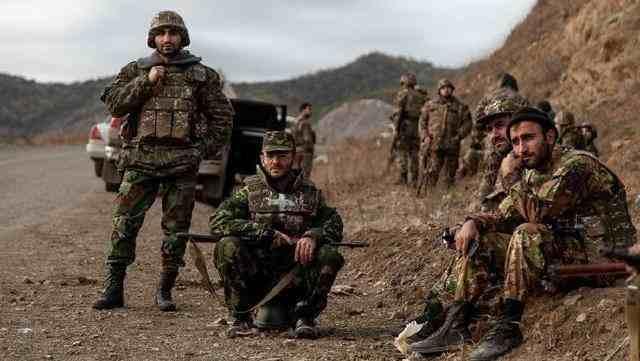 阿塞拜疆无人机空袭亚美尼亚士兵