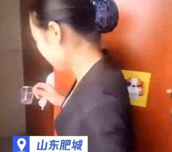 公司回应保洁员喝便池水