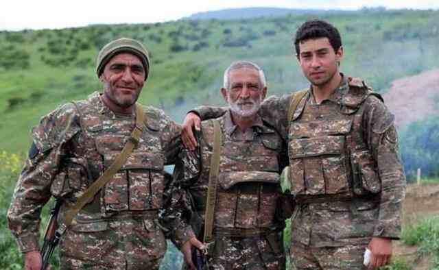 亚美尼亚老年战俘
