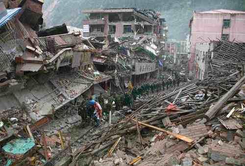 四川绵阳市发生4.7级地震