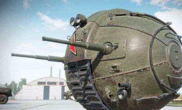 河南一厂家成功复原苏联球形坦克
