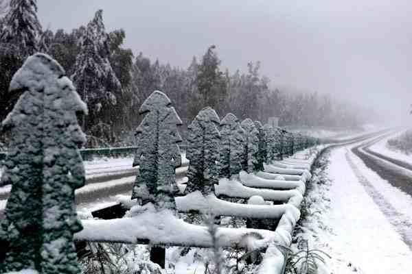 漠河降雪量达最大
