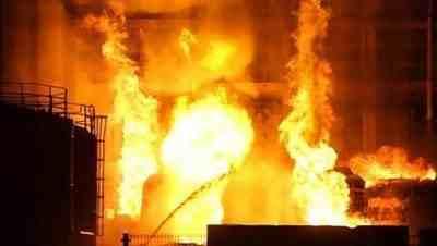 甘肃兰州一化工厂发生闪爆