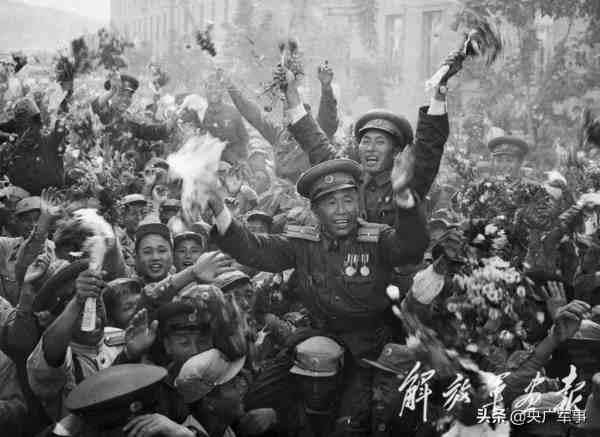 抗美援朝历史图