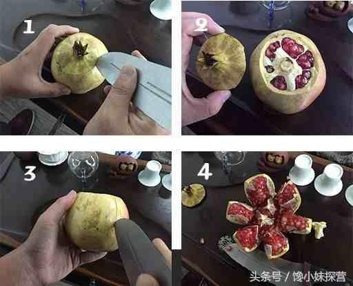 石榴做的三种美食,多少钱也买不来的美味