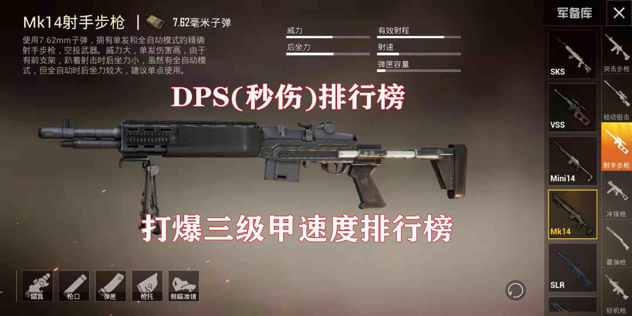 dps是什么意思(DPS、射速、稳定10大枪械排行榜)