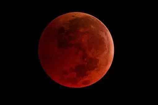 什么叫月全食(历史上有多少次月全食现象?)