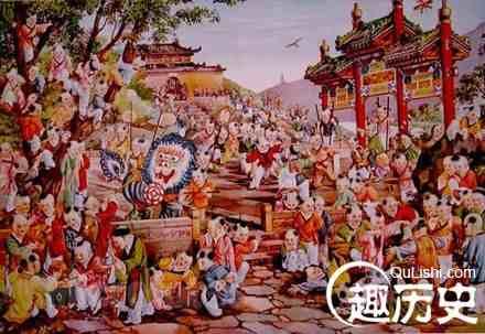 揭秘:<a href=http://www.xinxianshi.vip/tags/16/ target=_blank class=infotextkey>中国</a>传统四大年画产地是哪些?