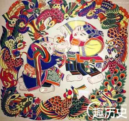 揭秘:中国传统四大年画产地是哪些?