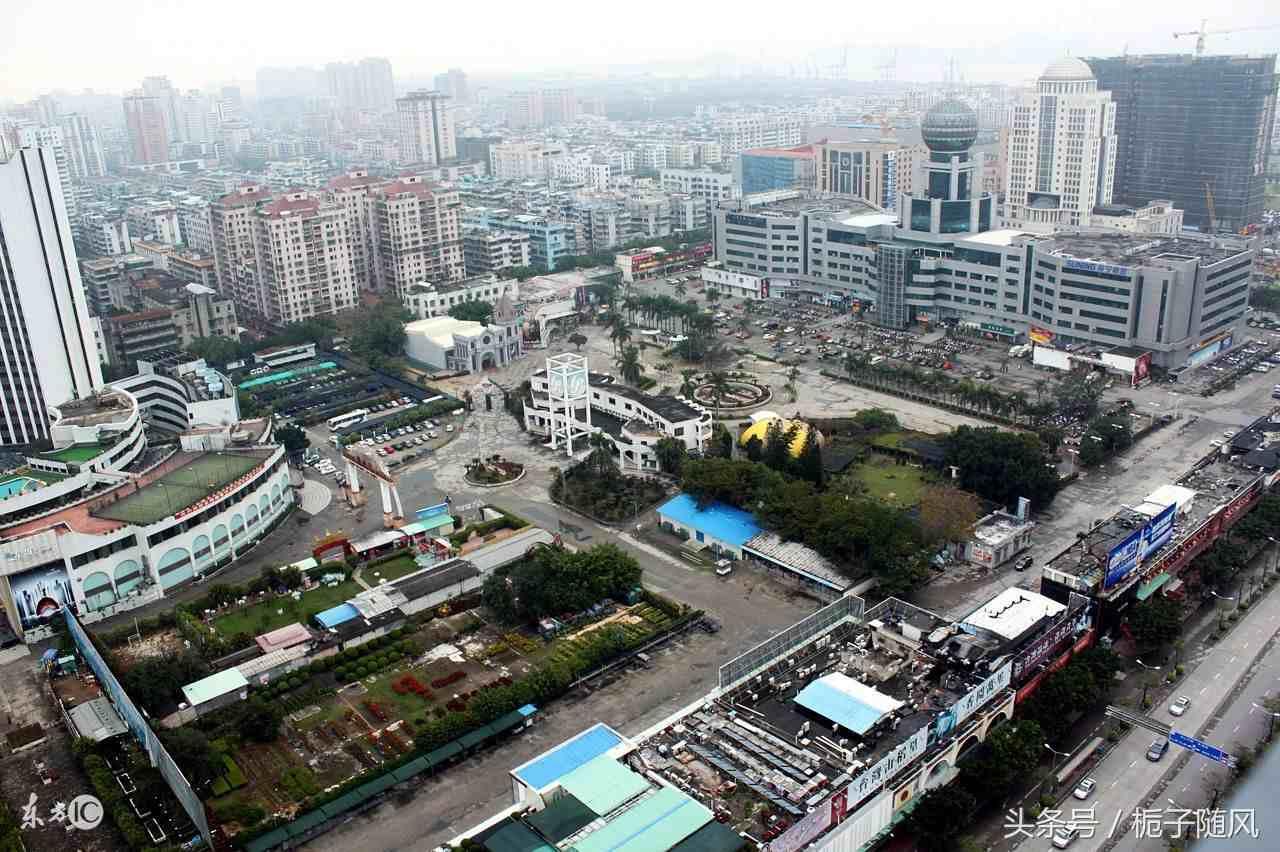 中国现今的六个经济特区