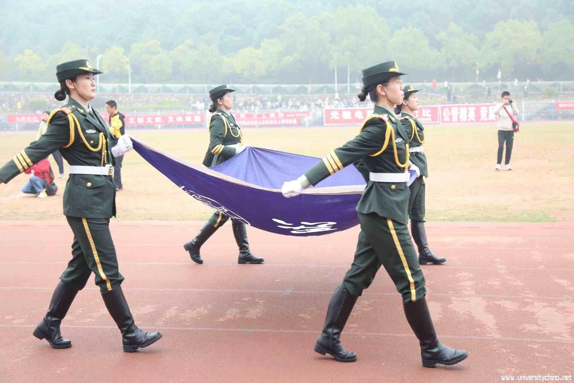 湘潭大学第四十届校运会开幕式:激扬青春,砥砺奋进