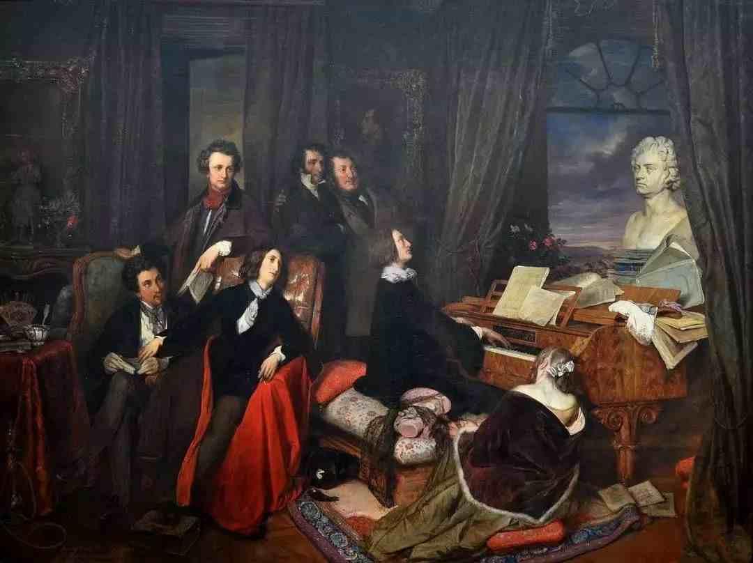 钢琴之王——李斯特