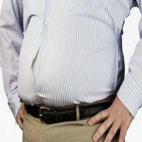 腹部脂肪(肚子上面的脂肪太顽固)