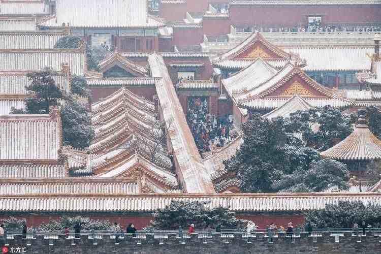 梦回紫禁城 穿越雪后的故宫