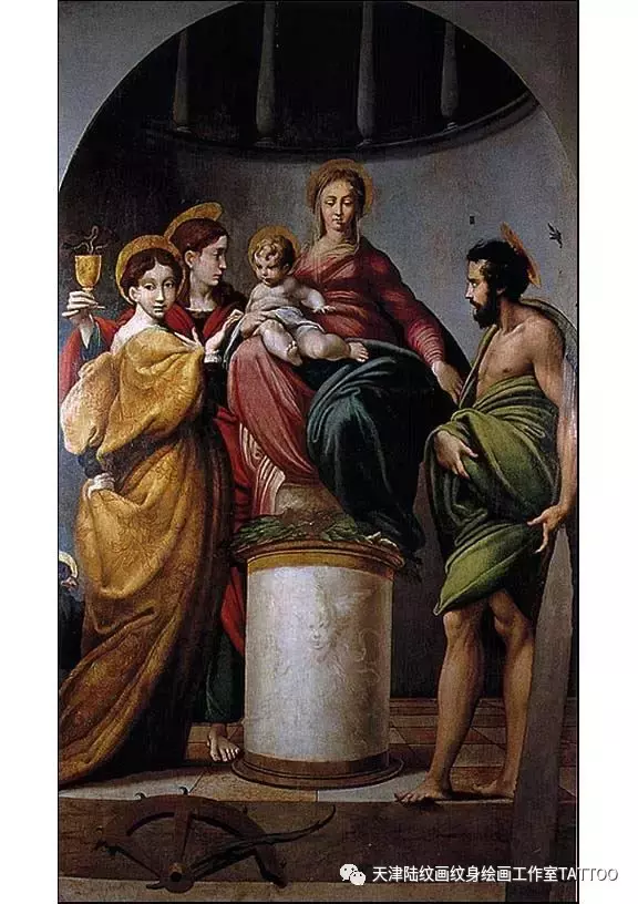 意大利天才画家帕尔米贾尼诺作品