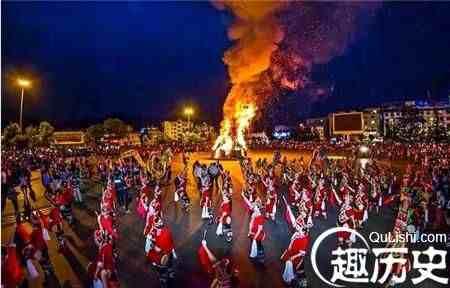揭秘彝族的传统节日火把节的来历是什么