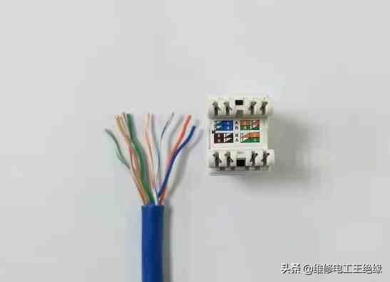 网线插座接法(网线插座怎么接?)