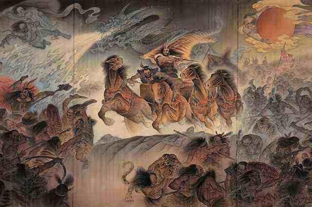 神农氏、轩辕、黄帝、炎帝、蚩尤到底是什么关系?