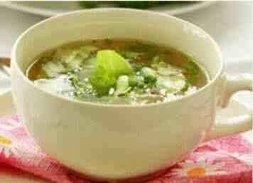 五行蔬菜汤的功效与作用