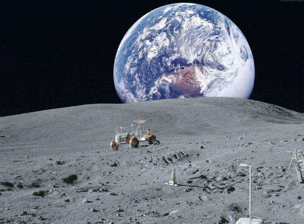 揭秘月球背面为什么去不了,纳粹余孽欲求基地/外星人的采矿场